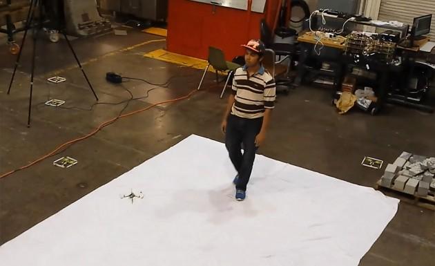 Эскадрон квадрокоптеров