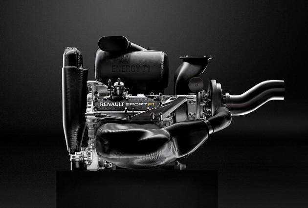 Двигатель F1 Renault