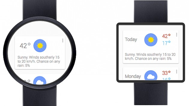 Концепт смарт-часов Google