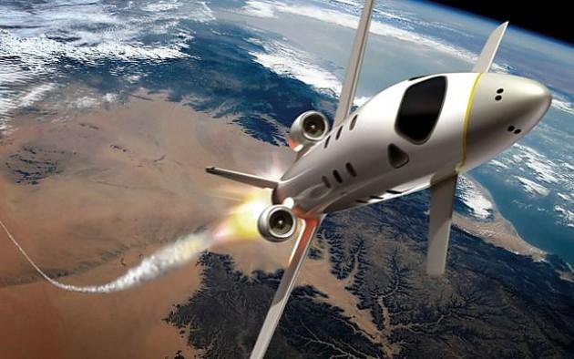 космический самолет Astrium E93