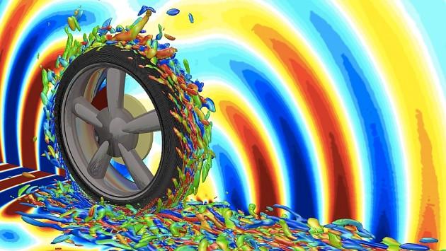 Шум от колеса