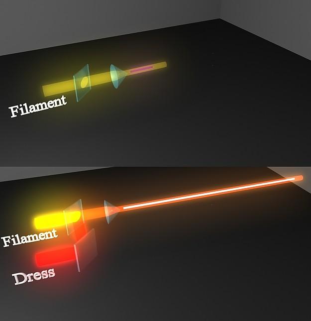 Двойной лазер