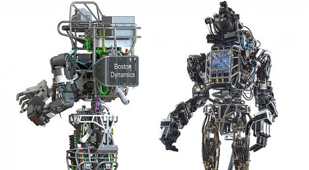 Робот, разработанный в DARPA