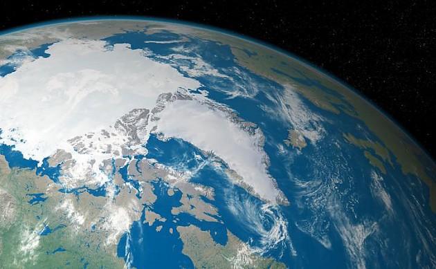 Арктические ледники из космоса