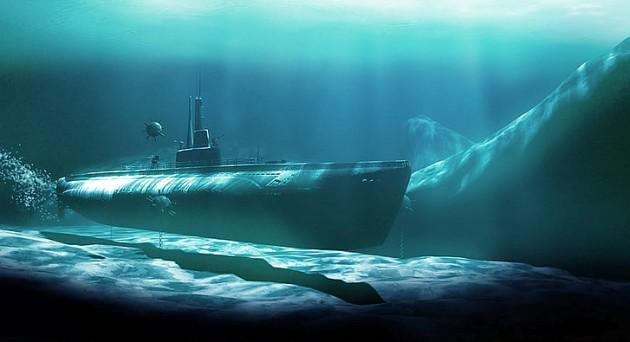 GPS под водой не работает