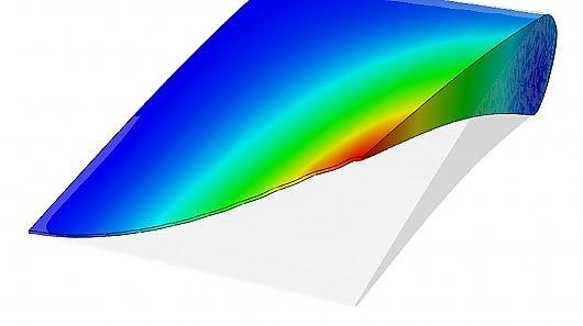 Создание компьютерной модели крыла будущего