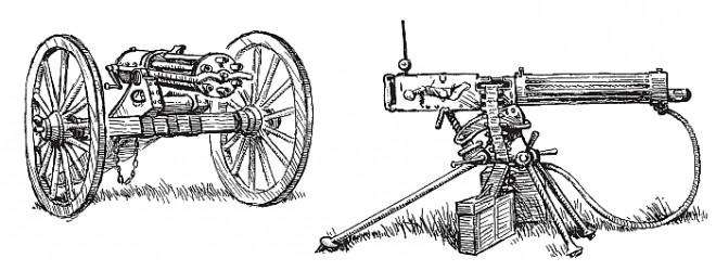 Пулемет Гатлинга. «