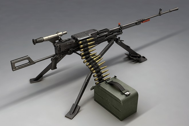 Пулемёт «Утёс» — прямой