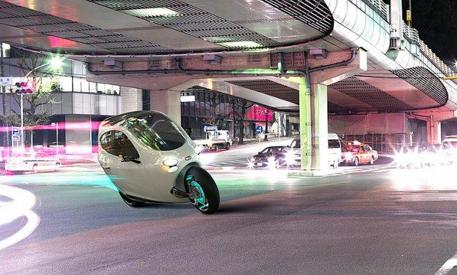 Двухколесный электромобиль
