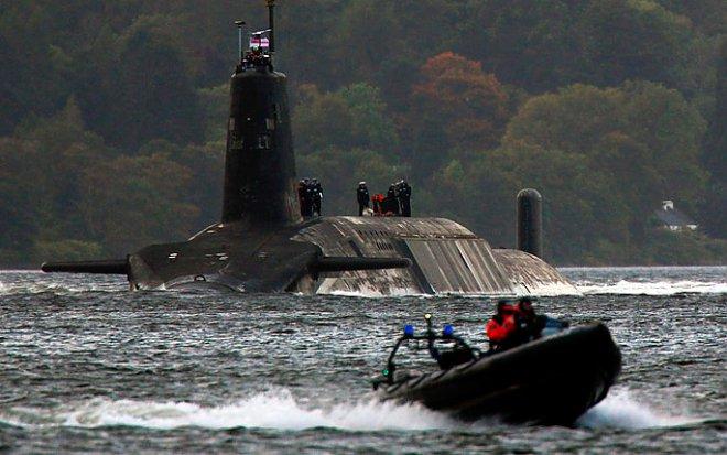 tridente подводная лодка