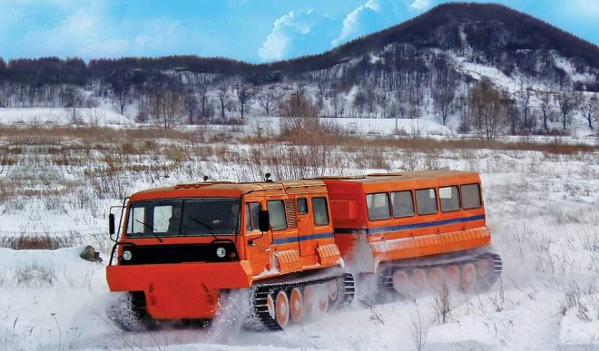 All-terrain vehicle Ruslan