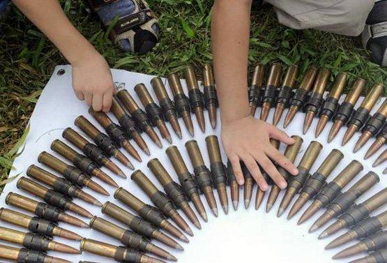 Боеприпасы 50 калибра