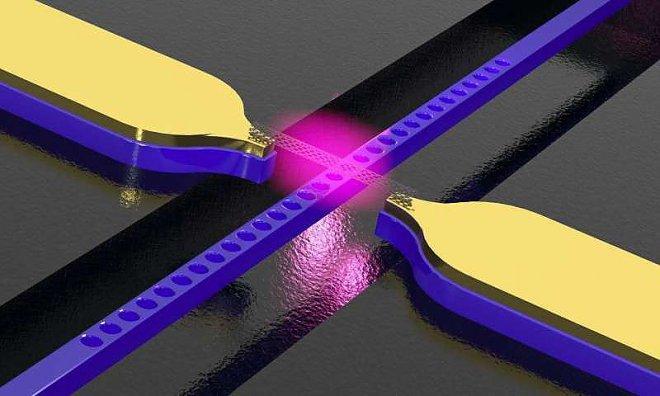 Волновод с углеродными нанотрубками преобразует электрические сигналы в свет
