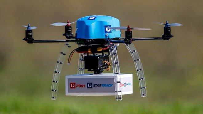 Австралийская почтовая служба тестирует доставку с помощью дронов