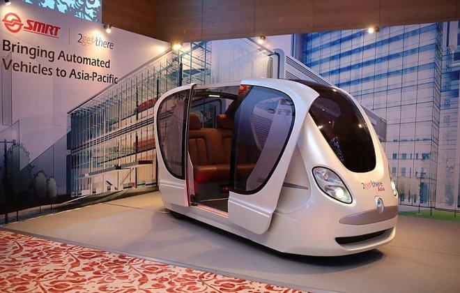 Сингапур внедряет беспилотную транспортную систему