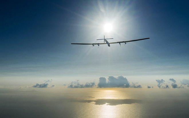 Самолет на солнечных батареях Solar Impulse 2 продолжил кругосветку