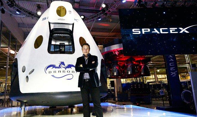 Владелец SpaceX хочет отправить первого человека наМарс через 8 лет