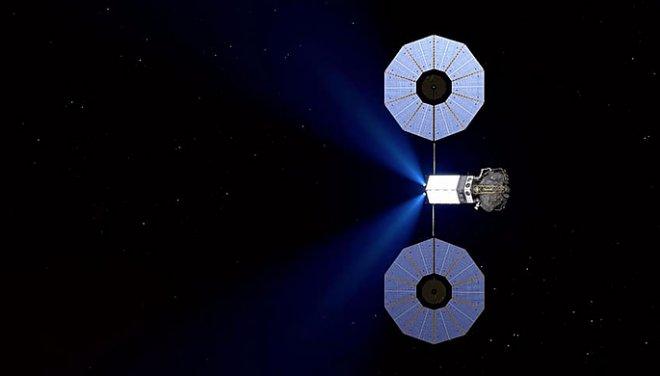 Отработка захвата астероида