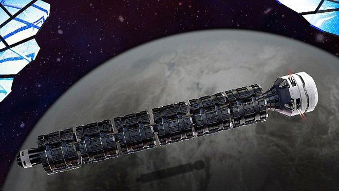 Космический поезд даст возможность добраться доМарса за37 часов