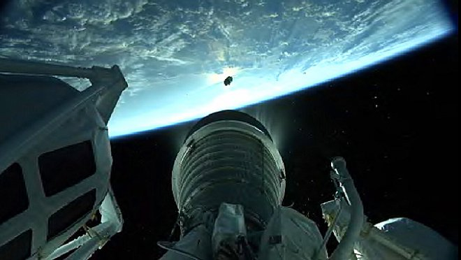NASA опубликовало видео старта миссии OSIRIS кастероиду