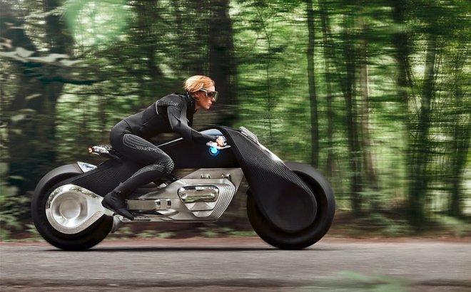 BMW Motorrad Vision Next 100 – концептуальный байк-робот следующего столетия