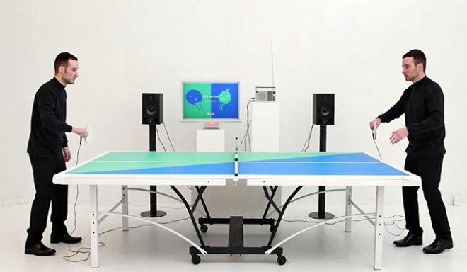 Ping Pong FM превращает настольный теннис в музыкальную битву
