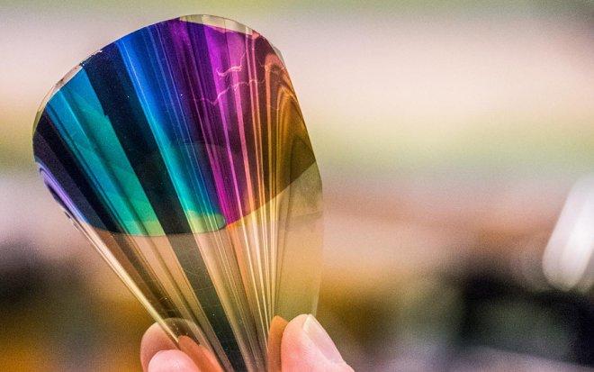 Цветная электронная бумага