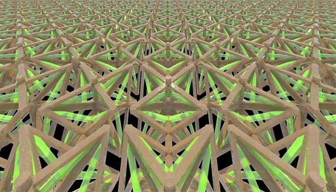 Ячеистая структура метаматериала