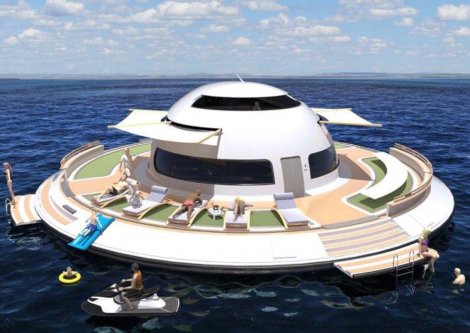 Мини-яхта НЛО 2.0