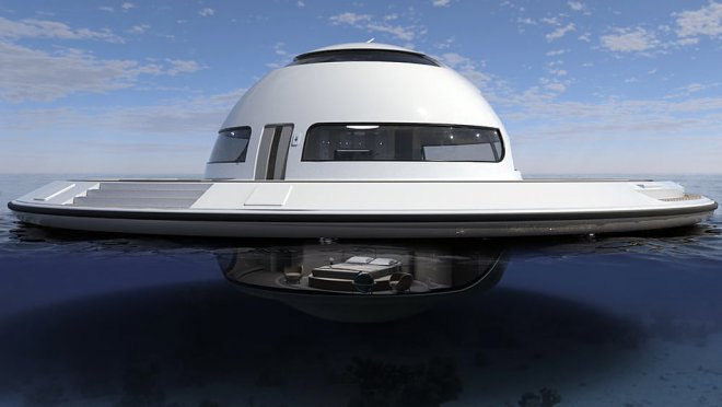 Яхта-дом UFO