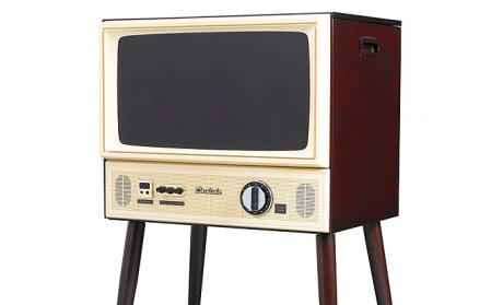 LCD-телевизор в стиле ретро