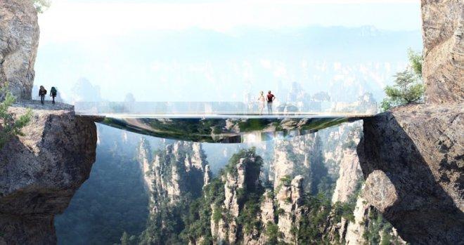 Вгорах «Аватар» построят невидимый мост