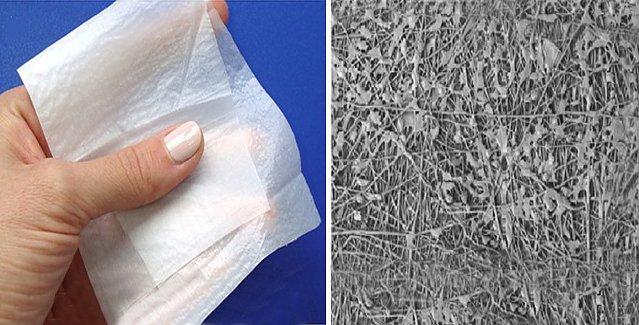 Биополимерные пластыри