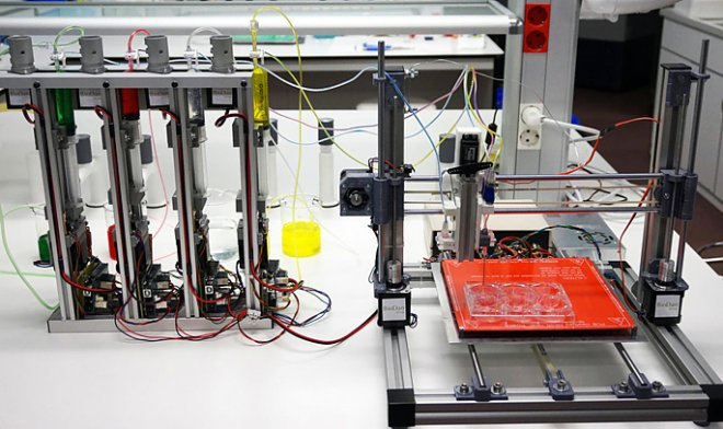 Создан 3D-принтер, печатающий человеческую кожу