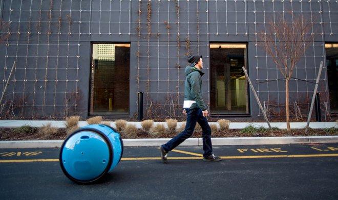 Piaggio Group создал мобильного робота наколесах
