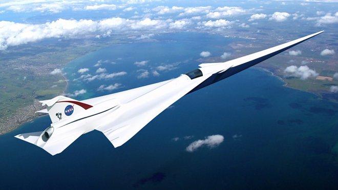 Сверхзвуковой самолет X-Plane