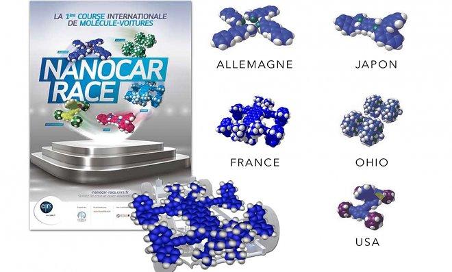 Вконце апреля состоятся гонки микроскопических машин