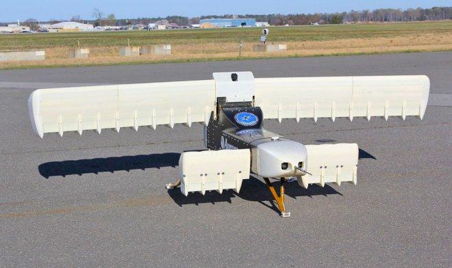 DARPA провело испытание беспилотника свертикальным взлетом X-Plane