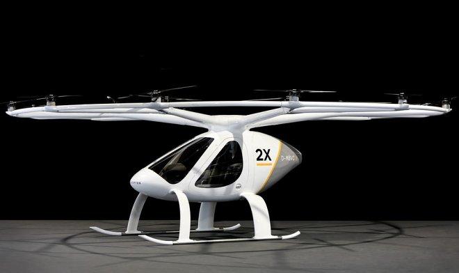 ВГермании представили летающее такси