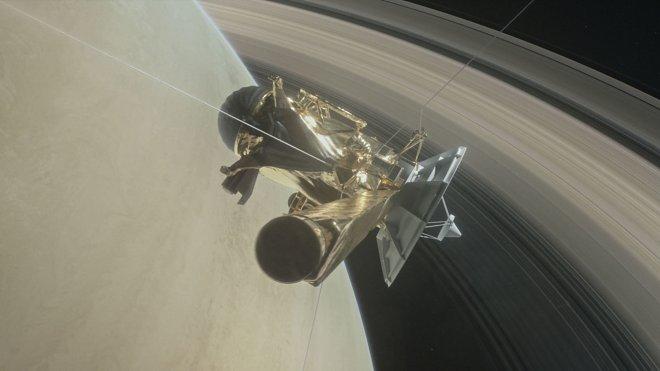 Космический аппарат Cassini