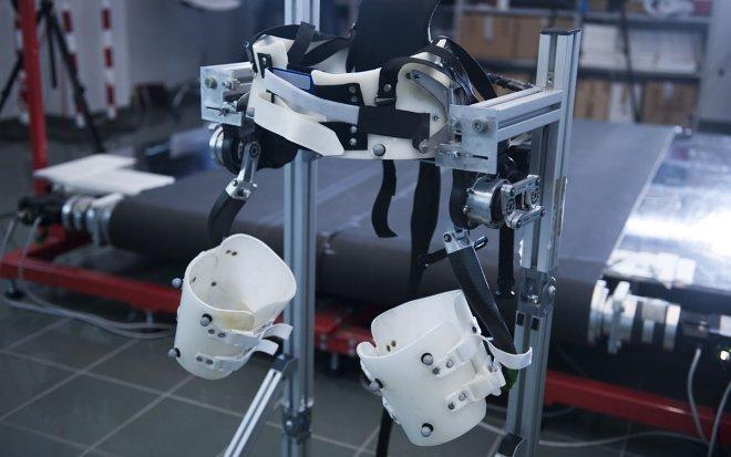 Ученые разработали специальный экзоскелет для престарелых людей