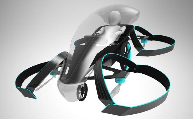 Концерн Тоёта планирует выпустить летающий автомобиль к 2019