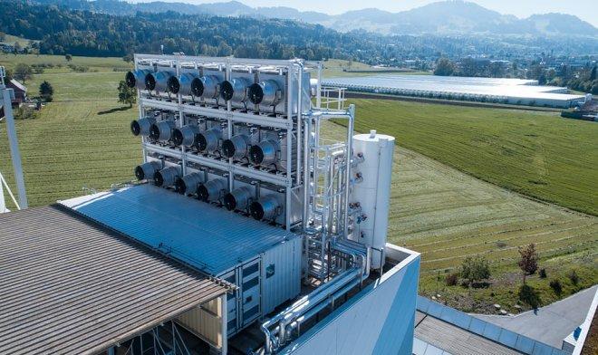 ВШвейцарии построили завод, который исполняет функцию деревьев