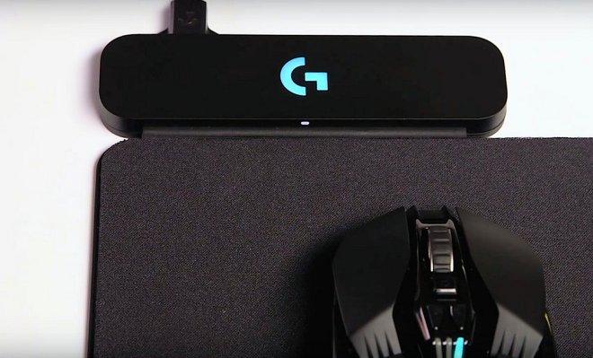 Logitech анонсировала коврик, который заряжает беспроводные мыши