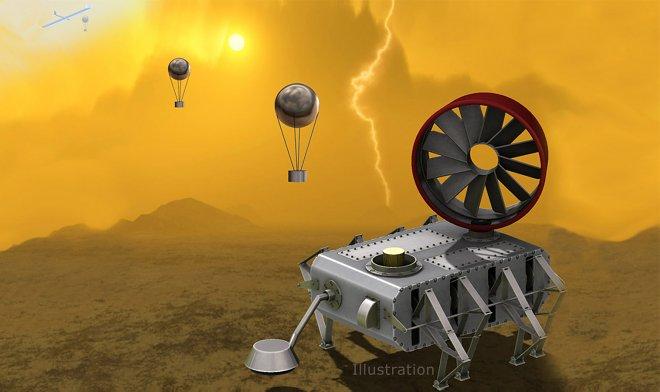 NASA разработало стимпанк-ровер для исследования Венеры
