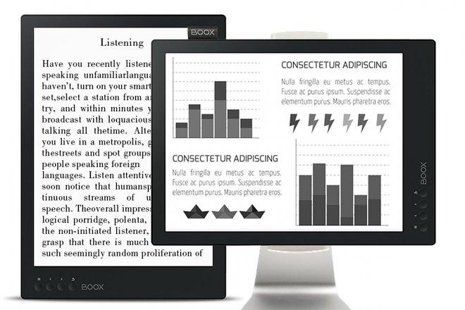 Наука и технологии  | Onyx Boox Max 2 — первая в мире электронная книга, которая может служить монитором | onyx-se7C