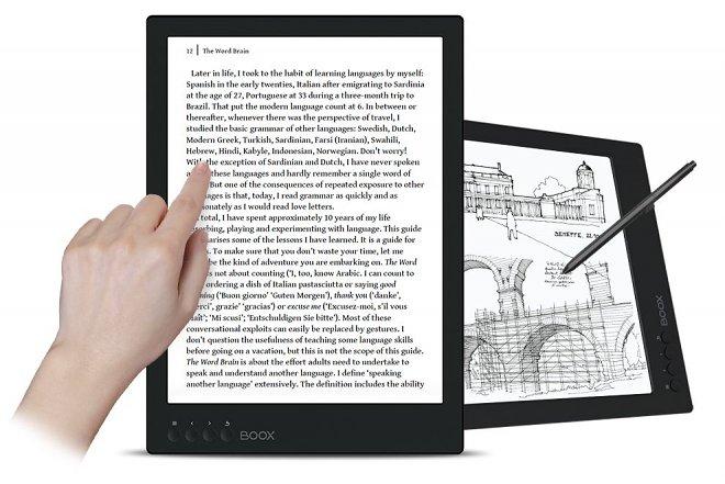 Наука и технологии  | Onyx Boox Max 2 — первая в мире электронная книга, которая может служить монитором | onyx