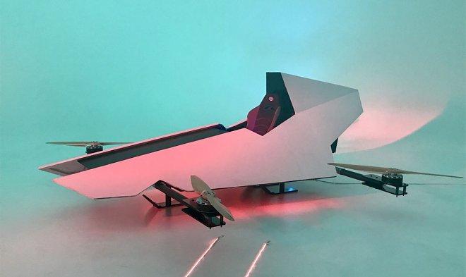 ВАвстралии создали гоночный автомобиль, способный летать