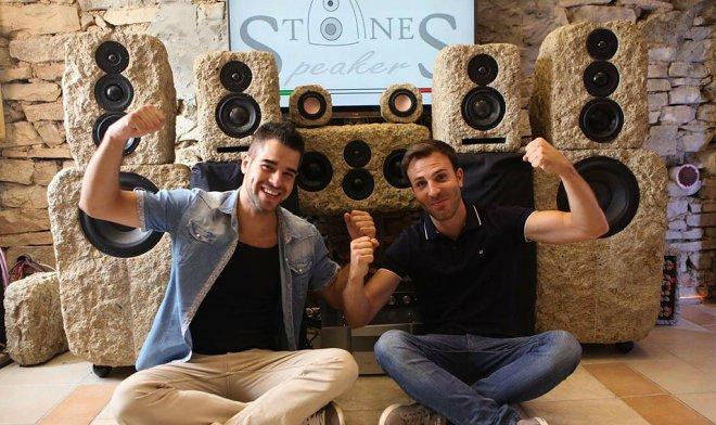 Наука и технологии  | Итальянский стартап приступил к изготовлению акустических систем из камня | stones-speakers