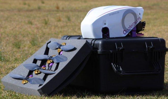 Наука и технологии  | Испанский гибридный беспилотник Hybrix.20 установил мировой рекорд продолжительности полета | quaternium-7Awc